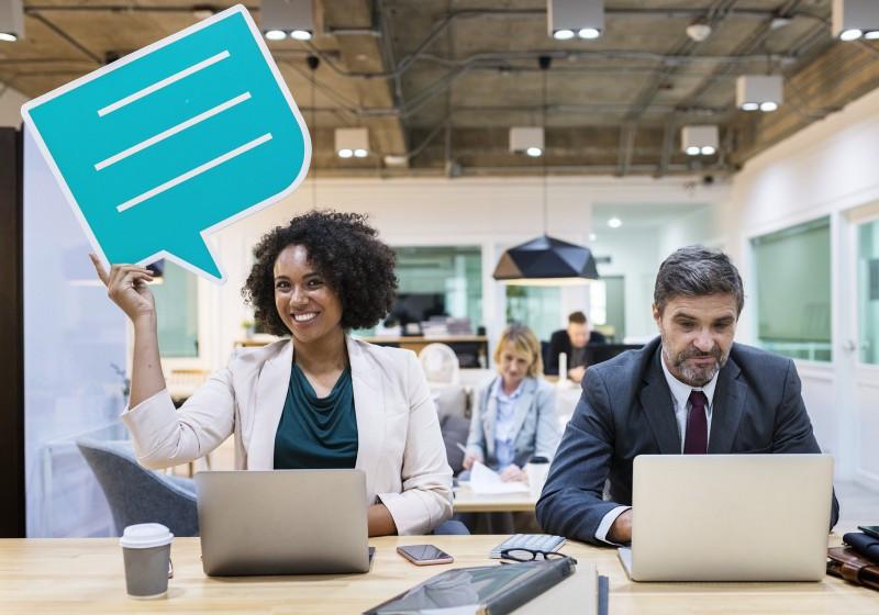 communiquer communication entreprise espace coworking échanger